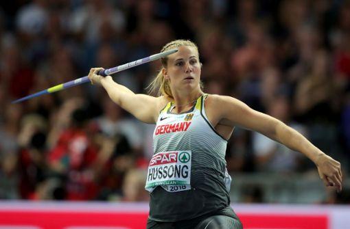 Christin Hussong ist neue Speerwurf-Europameisterin