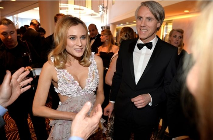 People Magazin-Party: Diane Kruger zeigt Strandlook in Berlin