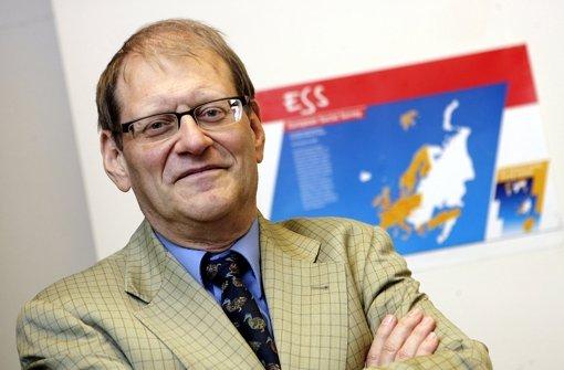 Oscar W. Gabriel, emeritierter Politologe der Universität Stuttgart. Foto: dpa