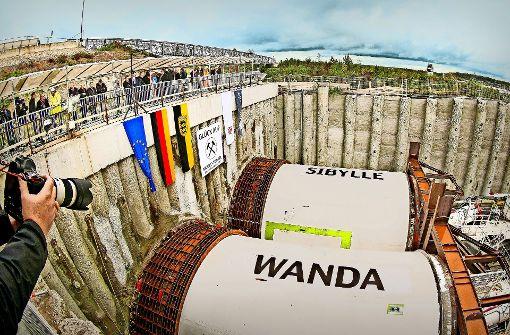 Wanda arbeitet sich nun durch das Albvorland