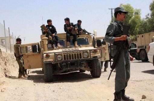 16 afghanische Sicherheitskräfte tot