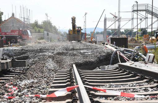 Bahn will Montag mit Arbeiten beginnen
