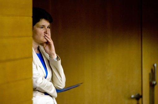 Tanja Gönner kehrt Landtag den Rücken