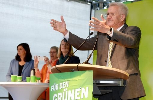 Südwest-Ministerpräsident Winfried Kretschmann Foto: dpa