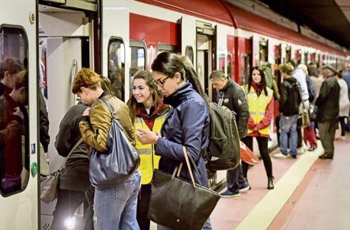 VVS nimmt Kurs auf neuen Fahrgastrekord