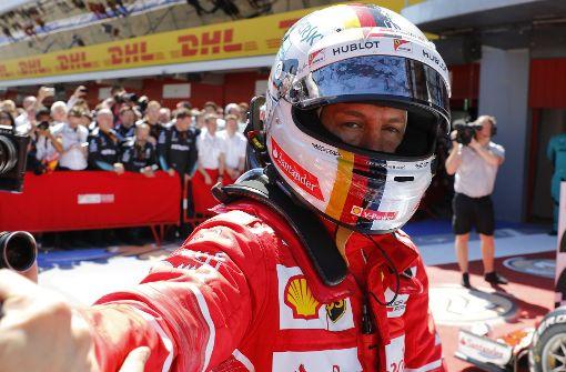 Vettel und die Ferrari-Schwäche