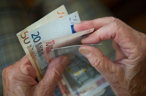 Immer mehr Rentner sind arm