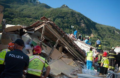 Tote bei Erdbeben auf Ischia
