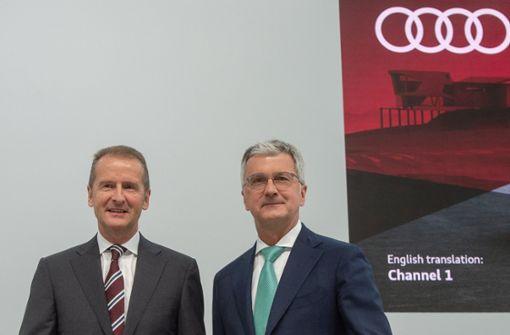 Audi-Chef Stadler räumt Fehler bei Abgas-Software ein