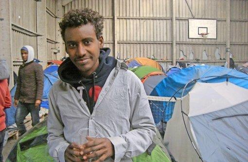 Saleh Ali ist 17 und hat seine Heimat Eritrea vor ein paar Monaten verlassen Foto: Holzer
