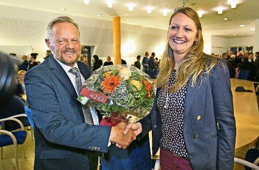 Melanie Gollert gewinnt Bürgermeisterwahl