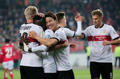 VfB Stuttgart steht im Achtelfinale