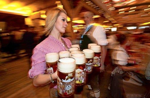"""Die Gäste trinken weniger Bier"""