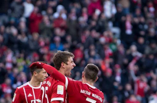 FC Bayern steuert auf nächste Meisterschaft zu