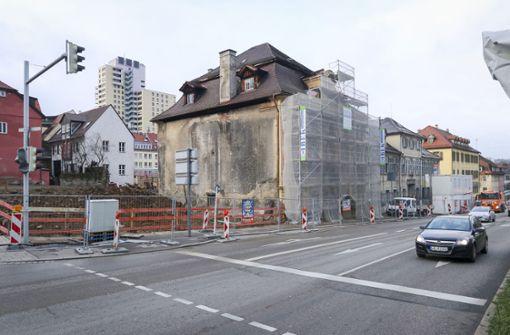 Das ehemalige Kaffeehaus an der Ecke ist weg. Foto: factum/Granville