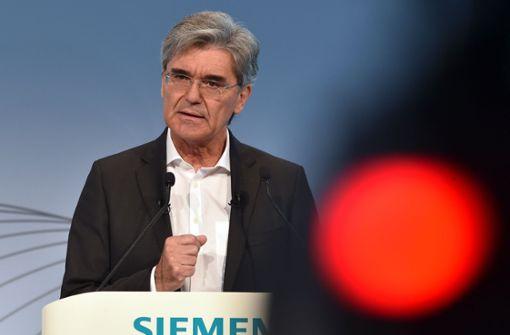 Siemens-Chef Joe Kaeser sagt Besuch in Saudi-Arabien ab