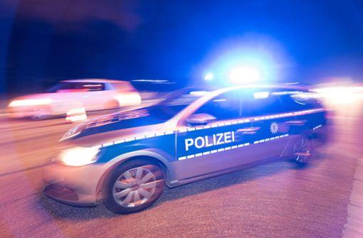Audi kollidiert mit Stadtbahn
