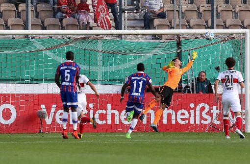 Das Spiel in Cottbus ging in die Verlängerung – und schließlich ins Elfmeterschießen. Foto: Pressefoto Baumann