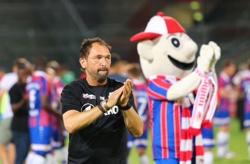 """""""Wir werden uns fußballerisch wehren"""", sagt der Energie-Trainer vor der Partie gegen den VfB Stuttgart. Foto: imago sportfotodienst"""