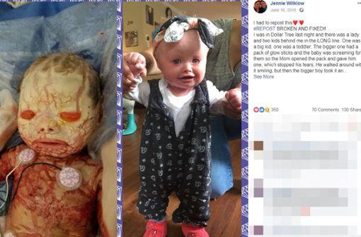 Dieses Baby muss alle zwei Stunden gebadet werden, damit es überlebt
