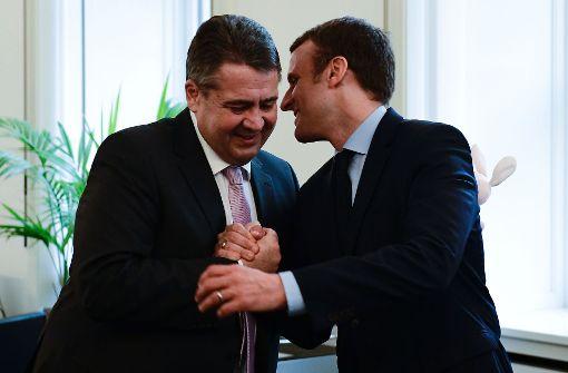 Gabriel unterstützt Macron