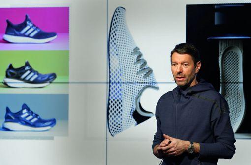 Adidas-Chef Kasper Rorsted freut sich über bessere Zahlen und wachsende Marktanteile. Foto: dpa