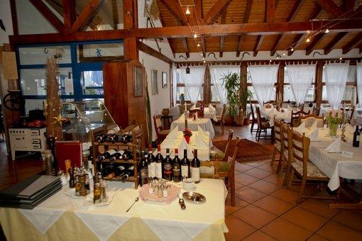 Vereinslokal mit italienischem Einschlag: Da Fernando auf der Waldau Foto: ppfotodesign.com
