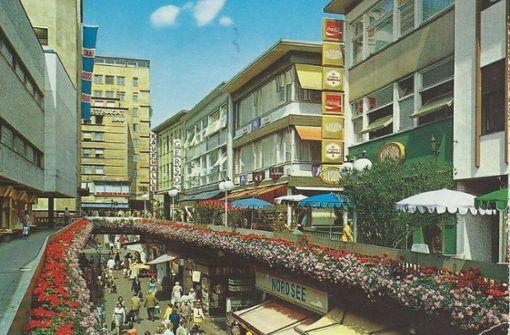 Die Schulstraße in den 1970ern. Foto: Sammlung Wibke Wieczorek