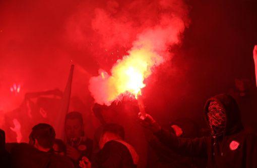27 Festnahmen am Rande der Europa-League-Partie