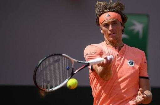 Alexander Zverev erreicht erstes Grand-Slam-Viertelfinale