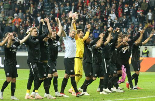 Eintracht Frankfurt feiert rauschendes Fußball-Fest