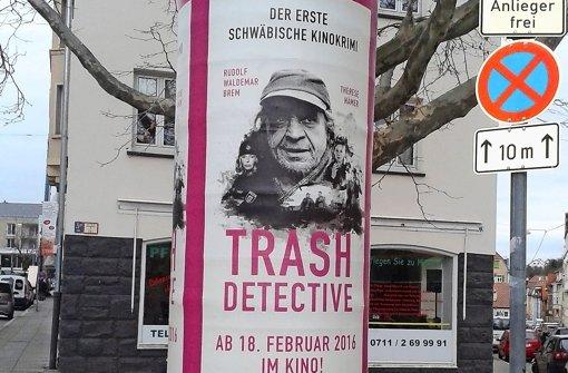 """Rudolf  Waldemar Brem spielt in dem schwäbischen Dorfkrimi """"Trash Detective"""" einen Außenseiter Foto: Camino"""