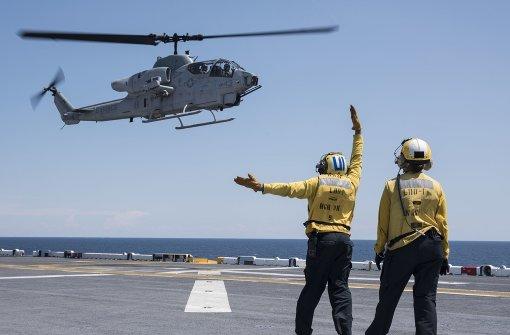 US-Helikopter gegen den IS in Libyen