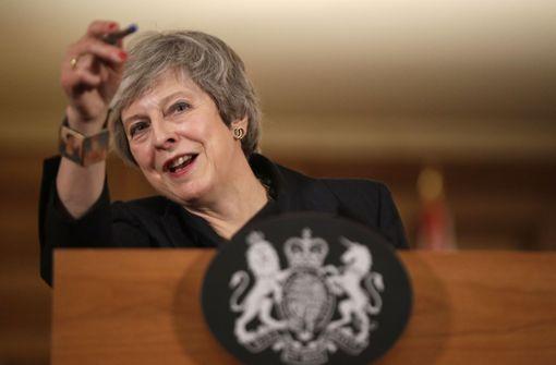 Theresa May weist Kritik an Brexit-Kurs zurück