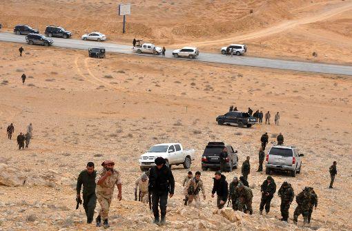 Militär verkündet Eroberung von Palmyra