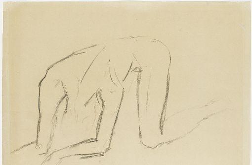 Wilhelm Lehmbruck, Studie zum Gestürzten, 1916 Foto: Staatsgalerie Stuttgart