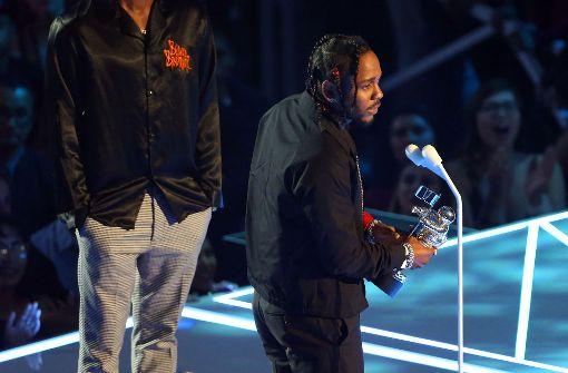 Kendrick Lamar ist der Abräumer des Abends