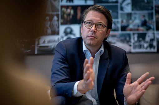 Bundesverkehrsminister Andreas Scheuer ist mit dem eingeschlagegen Weg zufrieden. Foto: dpa