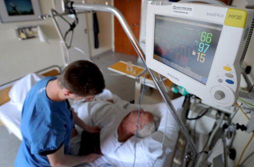 Bei Schlaganfall schnelle medizinische Hilfe wichtig. Foto: dpa