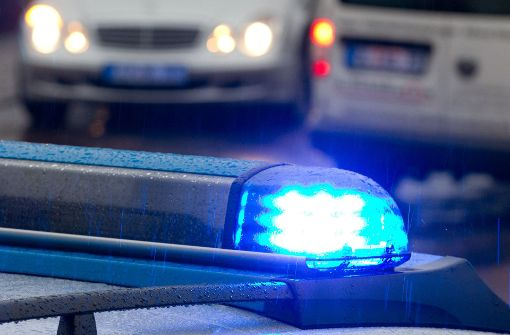 Polizei rettet nackten Mann von Dach