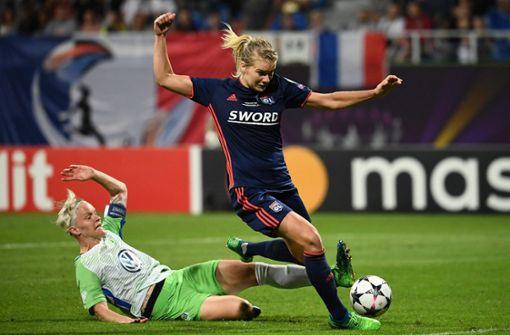 Wolfsburger Fußballfrauen verpassen zweites Triple