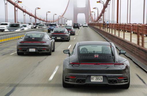 Der neue Porsche 911 geht an den Start