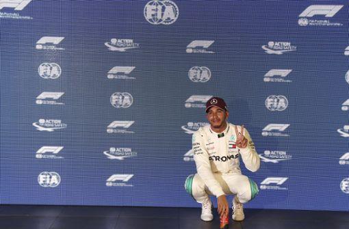 Lewis Hamilton schockt Sebastian Vettel und holt Singapur-Pole