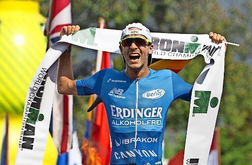 Schon wieder ist ein Deutscher vorne: Patrick Lange gewinnt den Ironman auf Hawaii. Foto: