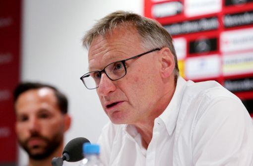 VfB-Sportvorstand ruft nach WM-Aus zu Besonnenheit auf