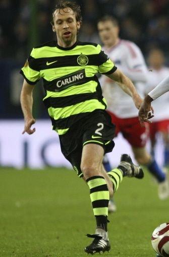 Zu dieser Zeit spielt er bei Celtic Glasgow. Foto: AP