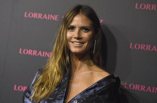 Diamonds are a girls best friend – so denkt auch Heidi Klum. Foto: Invision