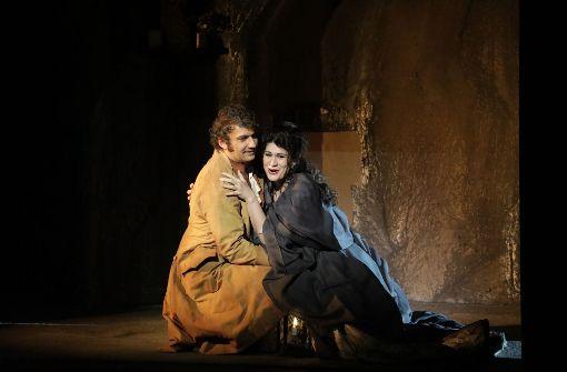 "Jonas Kaufmann und Anja Harteros in der Oper ""Andrea Chénier"" Foto: Patricia Sigerist"