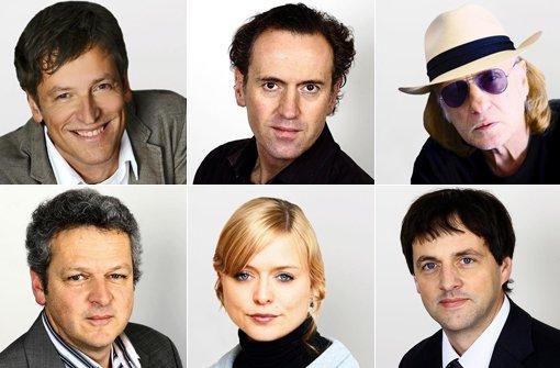 Von links im Uhrzeigersinn: Uwe Bogen, Tom Hörner, Joe Bauer, Jan Sellner, Anja Wasserbäch, Josef Schunder Foto: StN