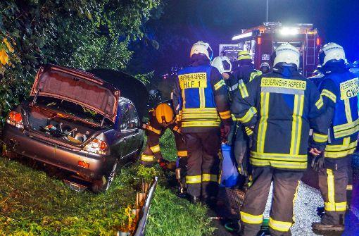 Schneller Autofahrer löst Feuerwehr-Großeinsatz aus